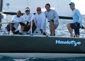 The only exception was the J/24 class, which saw Robert Povey and his local hotshot team on Hawkeye walk away with the winning title with a race to spare.