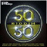 50 50 Riddim cover