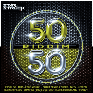 (CLICK FOR BIGGER) The 50/50 Compilation Album also features Iba MaHr on 50/50 Love followed by Esco's Hooked On You, Shanhill's Butterflies, Louie Culture's Love's Got A Hold On Me, Hezron's Can't Get Enough, Nadine Sutherland's Who's Gonna Love Me and is rounded off with I-Candy's Champion.