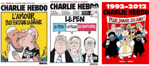 Cowards at Sky News refuse to show Charlie Hebdo cover