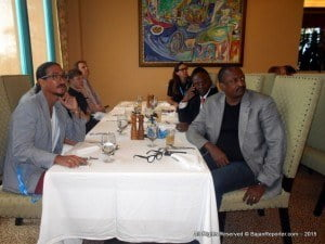 The event also drew the attention of key Ministers of the Barbados Government, including the portfolios of Labour, Commerce, Foreign Affairs and Finance - their respective Ministers attended a special luncheon held in honour of Government support earlier today at the Hilton's Grille restaurant.