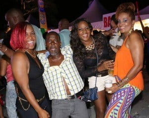 Having an unbelievable time at the 2015 St. Mary's All Inclusive fete