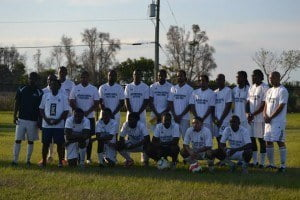 Jamaica College Under-40 team