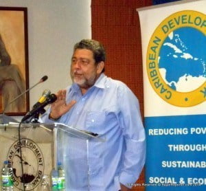 (PERSONAL FILE IMAGE) Dr. Gonsalves read a statement on ZIZ radio in St. Kitts, calling for the Supervisor of Elections to act speedily to declare the results of the election, so that the uncertainty concerning the outcome can be resolved.