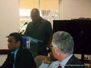 Minister of Health, John Boyce, has urged the food industry to respond to the challenge of promoting healthier eating by reducing the fat, sugar and salt levels in food and making healthier choices available to Barbadians.
