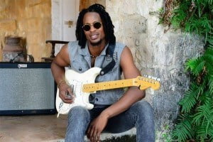 On his fifth birthday Anguillan born Singer/ Songwriter Omari Banks took the stage in Milan, Italy at Club Zimba to sing alongside his father Bankie Banx and has not left the stage since. By the age of ten he had won multiple talent shows as a singer and was a confident guitar player.