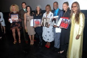 """(left to right) 1. Petra Roach - Barbados Tourism Marketing Inc2. Larry Dunn - former musical Director of Earth Wind & Fire and Wife Luisa 3.DeMonica Santiago-Plummer - of """"The Good Girls"""" R&B fame4.    Producers Dave and Marcia Weekes 5. Joyce Tolbert-Chapron - of """"The Good Girls"""" R & B fame 6. April Sutton - former Black Entertainment Television magnate"""