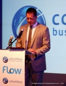 """John Reid, president and chief operating officer of Columbus Communications, noted that with the launch of VOD, customers will not only experience the incredible added value to Flow's video line-up at their convenience, but added that Columbus was also proud of the economic and developmental opportunities for the regional content producers. """"Our VOD platform now provides a place that our customers can watch what they want, when they want, including relevant local and regional content, popular international television series, movies, documentaries, music videos and much more. This is a good example of the Caribbean Single Market and Economy in functional working mode,"""" he said."""