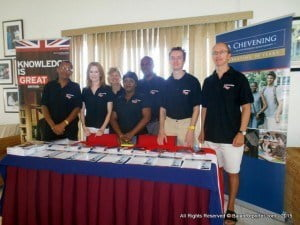 Barbados and The Eastern Caribbean's Chevening Alumni caught up wit h each other at the UK Higher Education and Skills Fair - Check out The Official Chevening Page for updates on the 2015/16 Chevening Scholarship programme.