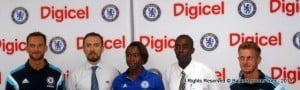 The Digicel Kickstart Clinics programme is now in its eighth year and is being hosted by coaches from the Chelsea FC Foundation for the third year. The Clinics are designed to develop the Caribbean's aspiring young footballers through intense two-day training sessions.