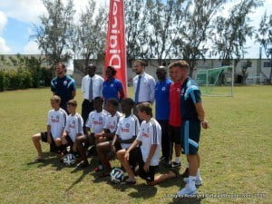 In celebration of this year's Special Olympics World Summer Games, Digicel will also be showing its support by donating Chelsea FC football gear to the Special Olympics Associations and special needs organisations in each of the participating markets. During their visit, the Chelsea coaches will be passing on their tips for success and good wishes to the Special Olympics athletes.