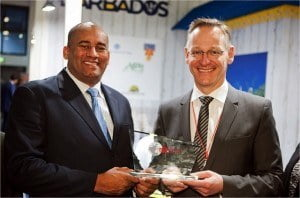 BTMI collects 'Sustainable Destination Promotion on the German Market' award during ITB Berlin