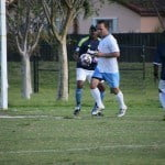 St. George's College vs Jamaica College - Christopher Ziadie clears the ball for St. George's College