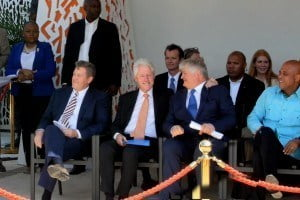 The Marriott Port-au-Prince Hotel was constructed through a partnership with Digicel Chairman and Founder, Denis O'Brien, Former US President, Bill Clinton and Marriott International in an effort to boost tourism through business travel