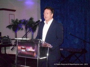 """President and Chief Operating Officer of Columbus Communications, Mr. John Reid, added """"We were provided with a unique opportunity to expose and promote the significant talents of both countries, which will lead to continued efforts to showcase and create business opportunities for Barbados and Newfoundland's culinary and food industries. Events such as these ultimately connect people, people build networks and networks spawn ideas for further opportunities. Essentially, tonight we are sowing the seeds for economic growth and national development through the culinary arts and the food industry."""""""