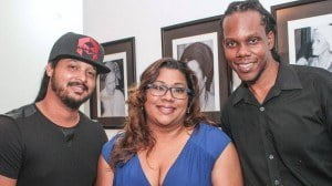 (From L-R) Film-maker Michael Mooleedhar, Massy Group Corporate Communications Officer Candace Ali and Media and Entertainment Consultant Damian Sogren