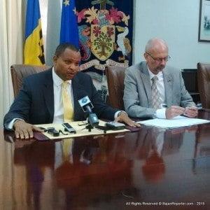 Minister Sinckler responds to media queries