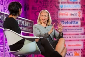 Today women own and manage over 30 per cent of all businesses, but tend to be concentrated in micro and small enterprises. Women sit on 19 per cent of board seats globally, and only five per cent or less of the CEO's of the world's largest corporations are women. (Virginia M. Rometty - IBM)