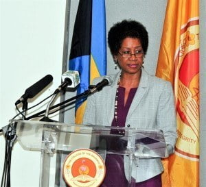 Division Chief in the Social Sector Division of the Caribbean Development Bank Ms. Deidre Clarendon pointed to the Bank's steady support of The Bahamas' national development priorities over the years. She reiterated the critical nexus between human capital formation and tertiary education institutions.