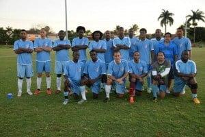 St. George College Under-45 team