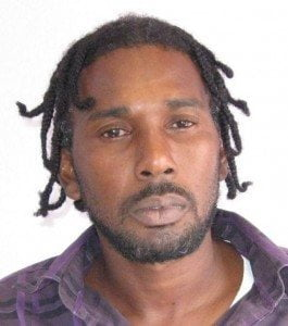On Friday night March 13, 2015, Hunte and Lewis were held after the  motor car they were in was intercepted by members of the Special Services Unit.