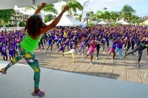 The Zumba exercise segment of last year's Health Extravaganza was very well received by patrons and is expected to be a big hit again this year.