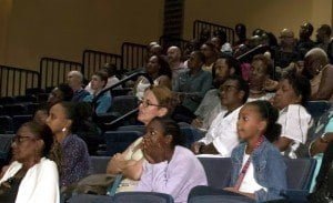 A section of the audience at the Barrel Stories launch