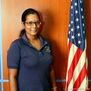 Gina Sahai, special needs teacher at The Schoolhouse for Special Needs in Barbados is participating in the U.S. Department of State's International Visitor Leadership Program.