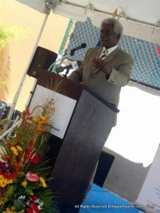 In addition, American Ambassador to Barbados & EC, Dr Larry L. Palmer, noted the handover was the result of many years of hard work and close coordination between numerous groups and agencies including the Government of Barbados, which provided the land and the United States Southern Command - the funding.