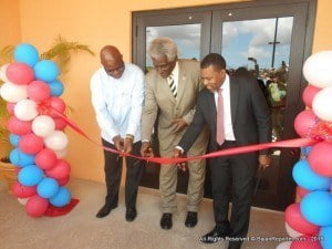 """Executive Director of CDEMA Ronald Jackson echoed those sentiments and during his remarks stated, """"Let this facility stand as a reaffirmation of our collective commitment to the goal of building of a safer, more resilient and sustainable region for the benefit of all of our people."""""""