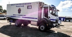 SKN Police Mobile Command Unit