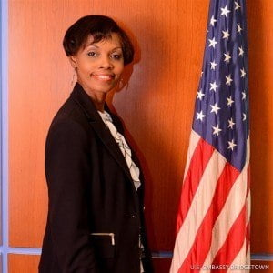 Rhonda Blackman, teacher at the Sharon Primary School in Barbados is participating in the U.S. Department of State's International Visitor Leadership Program.