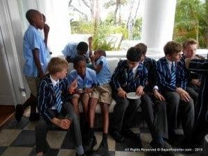 Both schools exchange ideas and cultures at Ben Mar