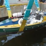 RMK Merrill-Stevens provided pro-bono service so the vessel can continue its final 1,500 miles. After the ceremonial send-off, Mooney will row to Sea Isle Marina (approx. two nautical miles) and depart over the weekend towards New York's Brooklyn Bridge.