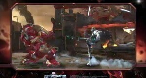 Iron Man suits up for a showdown with the Hulk in Marvel's mobile fighting game from Kabam! Subscribe to Marvel: http://bit.ly/WeO3YJ