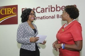 Melissa Goring, Administrative Assistant, HRMAB chats with the bank's Paige Bryan about HRMAB's work.
