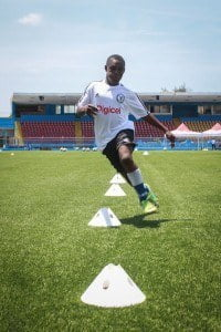 The Haiti boys were on form during their Clinics training session and continue to impress the Chelsea FC Coaches