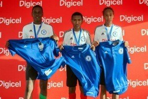 The 3 players that were selected to attend the Academy later this year, Alijah Shade, John-Paul Rochford and Tyrell Emmanuel