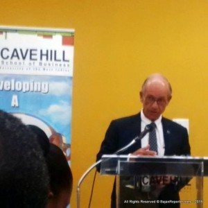 This claim was put forward by Paul Altman, noted real estate developer, when the Cave Hill School of Business launched two new Real Estate programmes, introduced in conjunction with the Homburg Institute.