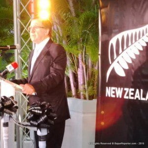 BGIS committed a bit of a faux pas, they did not include comments from either the NZ High Commissioner nor Wellington's Foreign Affairs Minister Murray McCully (featured)