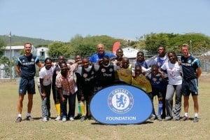 The Jamaica Special Olympics athletes left their mark on the Digicel Kickstart Clinics with a stellar performance