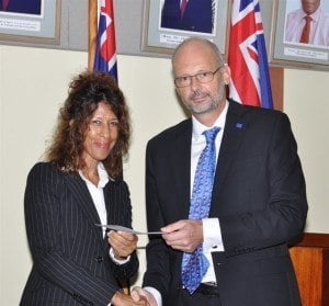 "Head of the EU Delegation to Barbados and the Eastern Caribbean, Ambassador Mikael Barfod welcomed the signing and said: ""The signing of the visa waiver agreement removes the stress and hassle for nationals of these countries in seeking to obtain a visa each time they have to travel to Europe. In some instances they have to leave their country to go to another to obtain the visa. The European Union is happy to extend such a courtesy to these countries in an effort strengthen our people to people contact."""