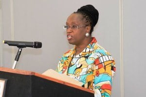 Ms. Angela Parris, Manager, Information Services Unit at Caribbean Development Bank
