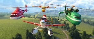 In the sequel and animated adventure Planes: Fire and Rescue (Saturday, May 9), Dusty learns that his engine is damaged and he must now switch careers.