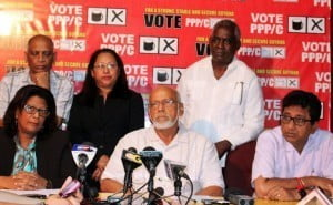 (IMAGE VIA - newssourcegy.com) The leadership of the APNU-AFC alliance, prior to this election, had said they would include PPP representatives in government. This ideal might not materialise, not least because of the antagonism between the parties over the last three years and the bitterness shown in the election campaign.