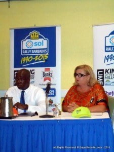The provisional entry list of 95 crews was confirmed today (Wednesday) during a press conference at the Accra Beach Hotel & Spa in Rockley, on the island's south coast. The Club's Anniversary event has broken a number of records: overseas entries (44), participating nationalities (17), total of overseas participants (88), first-time overseas participants (40) and female competitors (15).