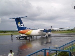 (FILE IMAGE) LIAT is also forced to restrict the number of bags on the aircraft at this time of the year when wind conditions in both Dominica and St. Vincent restrict the take-off weight of the company's aircraft.