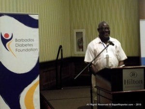 """Dr Colin Alert, noted diabetic physician, is one of many local and overseas specialists addressing the Barbados Diabetic Foundation's """"Moving Forward Together: The First Steps Toward Multidisciplinary Care"""" at Hilton Barbados."""