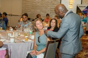 """The """"Spirit of Barbados"""" road show has attracted top producing retail and home -based agents in addition to luxury advisors from the Virtuoso, Ensemble and Signature consortia. Event highlights included a marketplace where agents interacted with the exhibitors and an extensive training presentation overviewing the best that Barbados has to offer."""