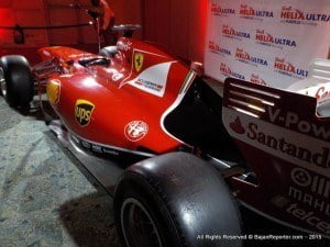 Select guests were invited for this and the display of an authentic Ferrari F1 race car at the Lloyd Erskine Sandiford Centre, Two Mile Hill, St. Michael.